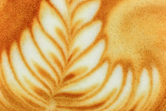 Latte Art Coffee Arkivbild