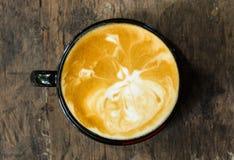 Latte Art Coffee Arkivfoton