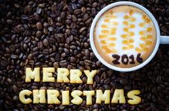 Latte Art Coffee Immagini Stock Libere da Diritti