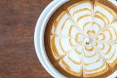 Latte Art Coffee imagens de stock royalty free