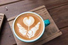Latte Art Coffee fotos de stock royalty free