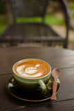 Latte Art coffee Royalty Free Stock Images