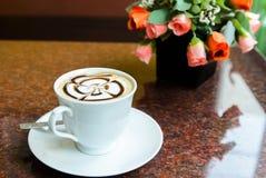 Latte Art Coffee Royalty Free Stock Photo