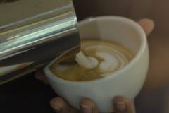 Latte art Royalty Free Stock Photos