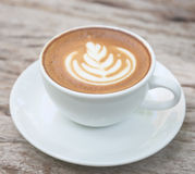 Latte art Stock Photography