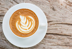 Latte art Royalty Free Stock Photo