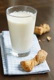 Latte caldo Fotografia Stock Libera da Diritti