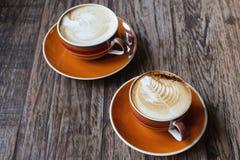 Latte chaud photos libres de droits