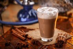 Latte chaud de Chai photos stock