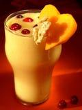 Latte-cocktail della zucca Fotografia Stock Libera da Diritti