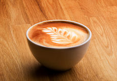 Latte Coffee Royalty Free Stock Photography