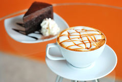 Latte coffee Royalty Free Stock Image