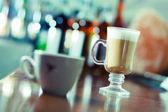 Latte coffee Royalty Free Stock Photos