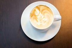 Latte coffee christmas Stock Photography