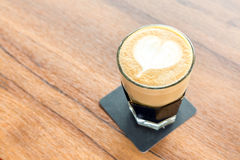 Latte coffee Royalty Free Stock Images