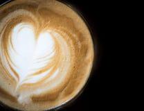 Latte coffee Stock Image