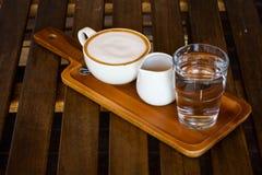 Latte coffee Stock Photo