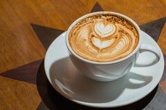 Latte coffee Royalty Free Stock Photo