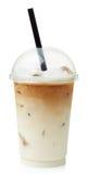 Latte congelado do café fotografia de stock royalty free