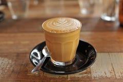 Latte, Cortado, Marocchino, Caffè Macchiato stock images