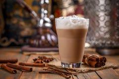 Latte délicieux de Chai image stock