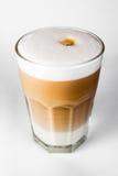 Latte da chávena de café Foto de Stock Royalty Free