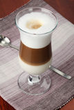 Latte de café photo stock