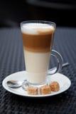 Latte de café Photos libres de droits