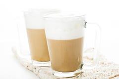 Latte de café Photos stock
