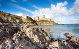 Latte de La de fort dans Britanny, France photographie stock
