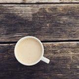 Latte de la mañana Foto de archivo libre de regalías