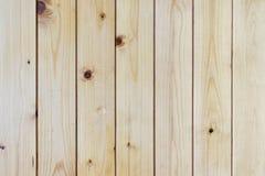 Latte de mur en bois de pin Photo libre de droits