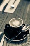 Latte de petite flûte Image stock