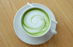 Latte de thé vert image libre de droits