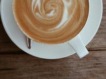 Latte del café Fotografía de archivo