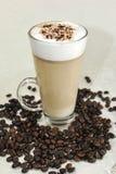 Latte del café Foto de archivo libre de regalías