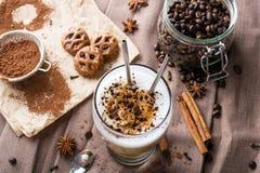 Latte del café Imágenes de archivo libres de regalías