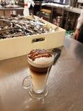 Latte del café Fotografía de archivo libre de regalías