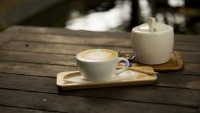 Latte del café de la bebida Foto de archivo libre de regalías