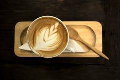 Latte del café de la bebida Imagen de archivo libre de regalías