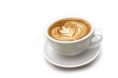 Latte del caffè Fotografia Stock