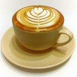 Latte del caffè Immagine Stock Libera da Diritti