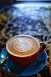 Latte del caff? fotografia stock