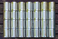 Latte del metallo - fondo/modello Fotografia Stock Libera da Diritti