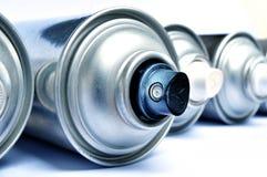 Latte dell'aerosol fotografie stock