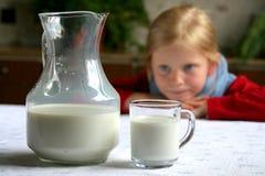 Latte della bevanda! fotografia stock