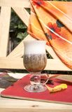 Latte della zucca Fotografia Stock