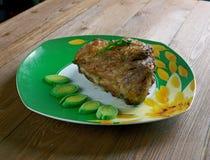 Latte di Al di Maiale brasato carne di maiale Immagine Stock Libera da Diritti