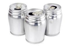 Latte di alluminio Immagine Stock Libera da Diritti
