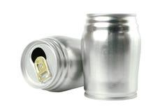 Latte di alluminio Fotografia Stock Libera da Diritti